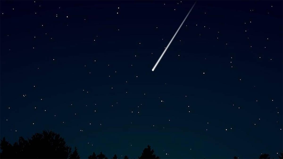 Video del meteorito en España