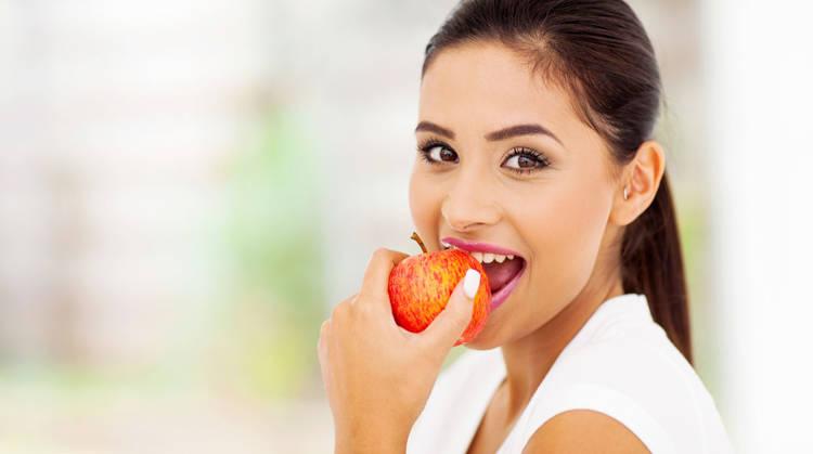 Una manzana puede disminuir el riesgo de cáncer